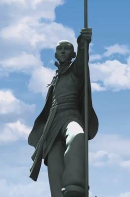 Avatar Aang Memorial Statue