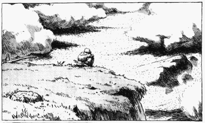 Nausicaa on the hill