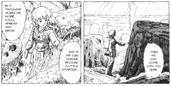 Nausicaa someday a little smarter