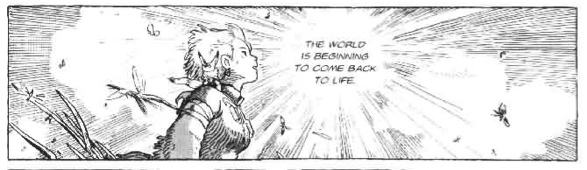 Nausicaa at the end of the Sea of Corruption