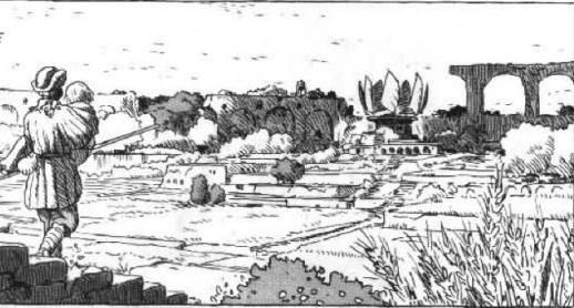 Nausicaa and the Garden