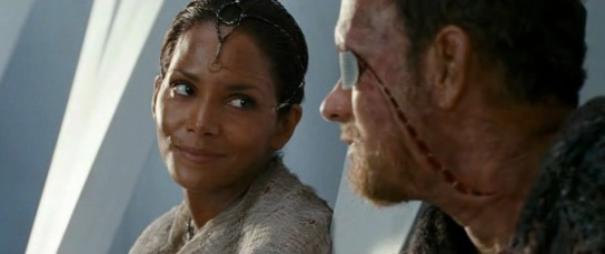 Cloud Atlas Zachry and Meronym, played by Hanks and Berry
