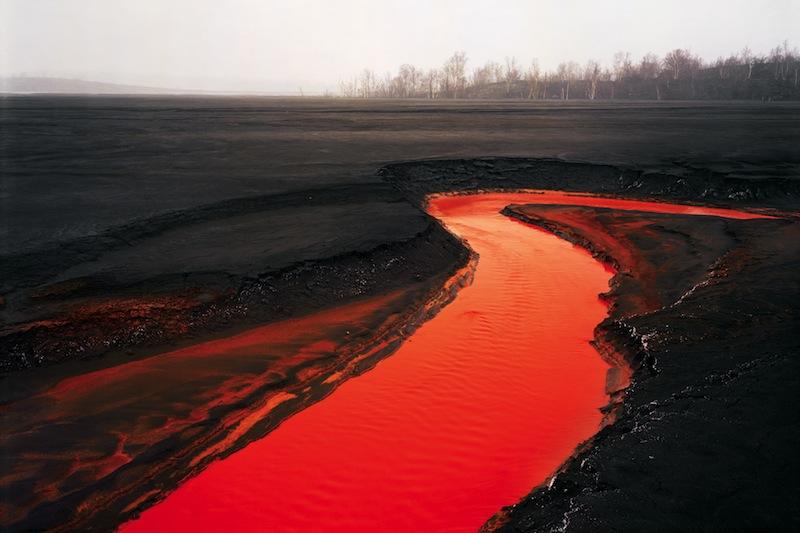 Burtynsky's Manufactured Landscapes Orange River Plate 14