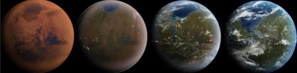 Transforming of Mars