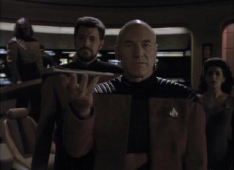 Darmok Picard on Bridge
