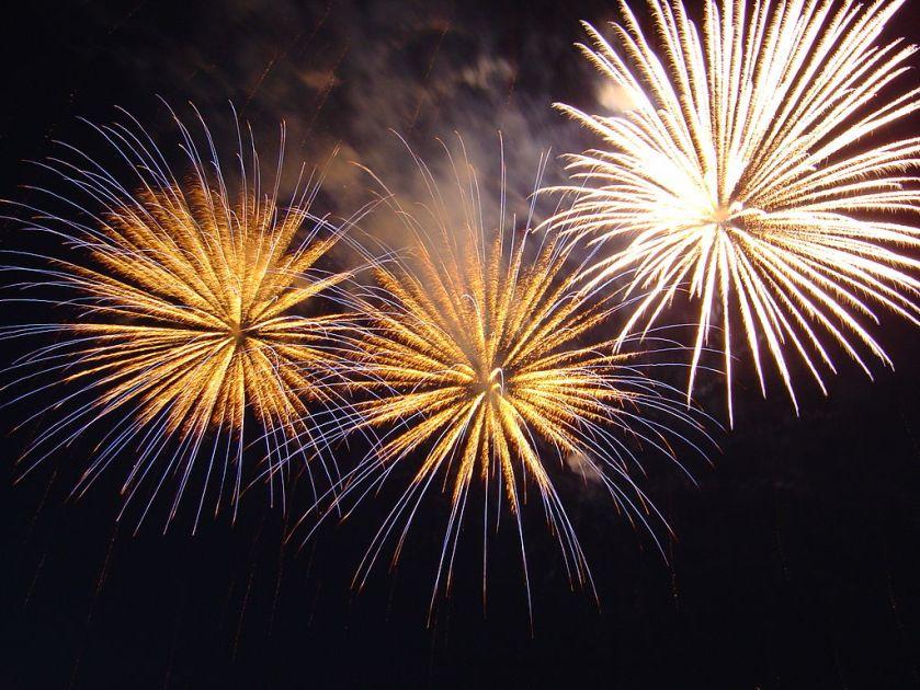 Bratislava New Years Fireworks