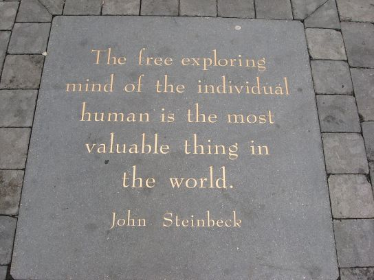 John Steinbeck quote