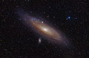 Andromeda Galaxy from Love