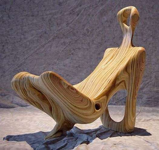 Avant Garde Furniture Anthropomorphic chair