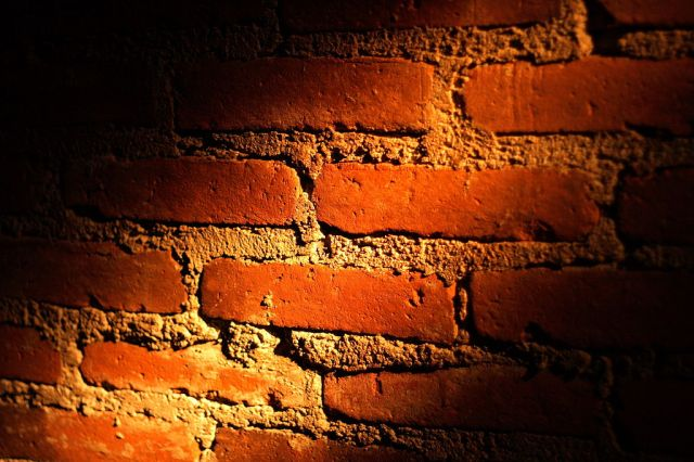 Brick wall Light and Shadow