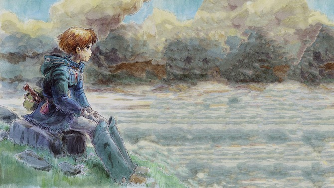 Nausicaa Watercolour