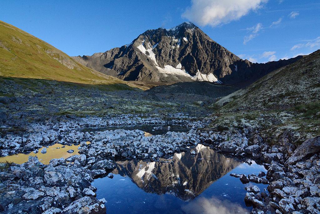 Bold Peak Chugach Mountains Alaska