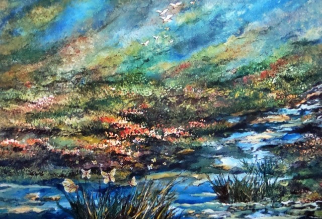 Nature Music Painting