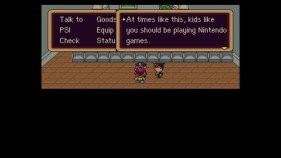 Earthbound Playing Nintendo Games