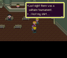 Earthbound Solitare Lost Shirt