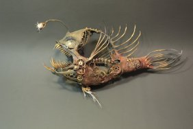 Angler Fish by Ellen Jewett