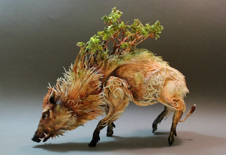 Celtic Boar by Ellen Jewett
