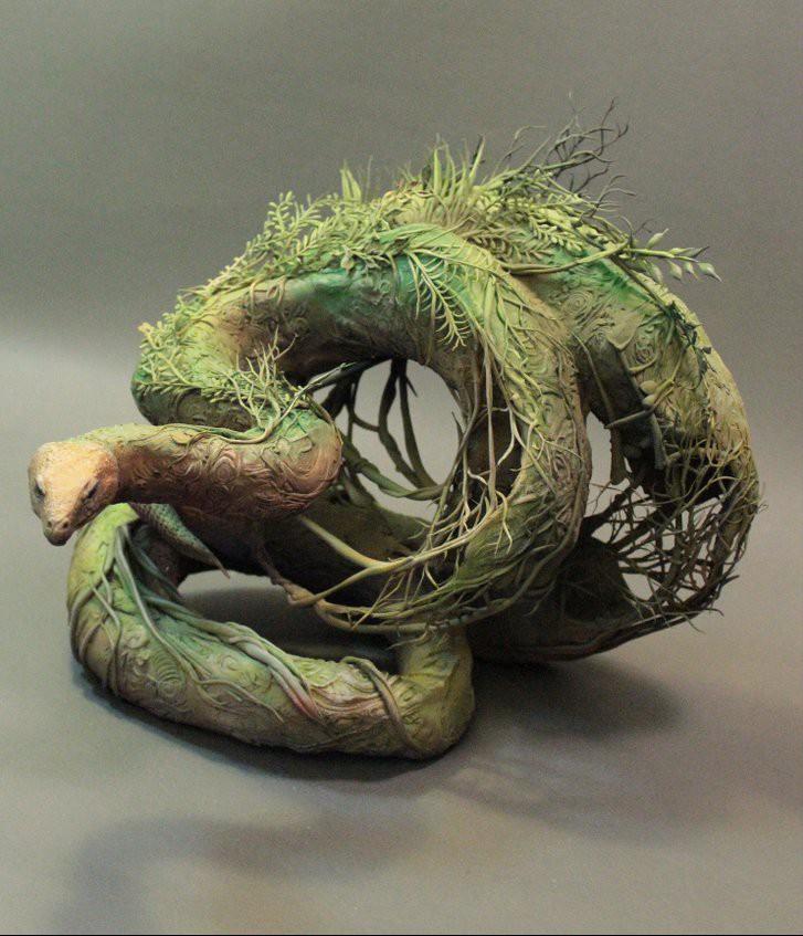 Earth Constrictor by Ellen Jewett