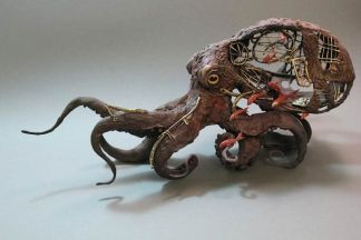 Mechanical Octopus by Ellen Jewett