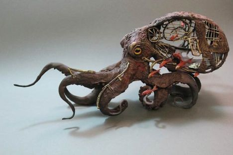 Mechanical Octopus by Ellen Jewett
