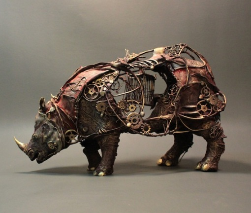 Mechanical Rhino by Ellen Jewett