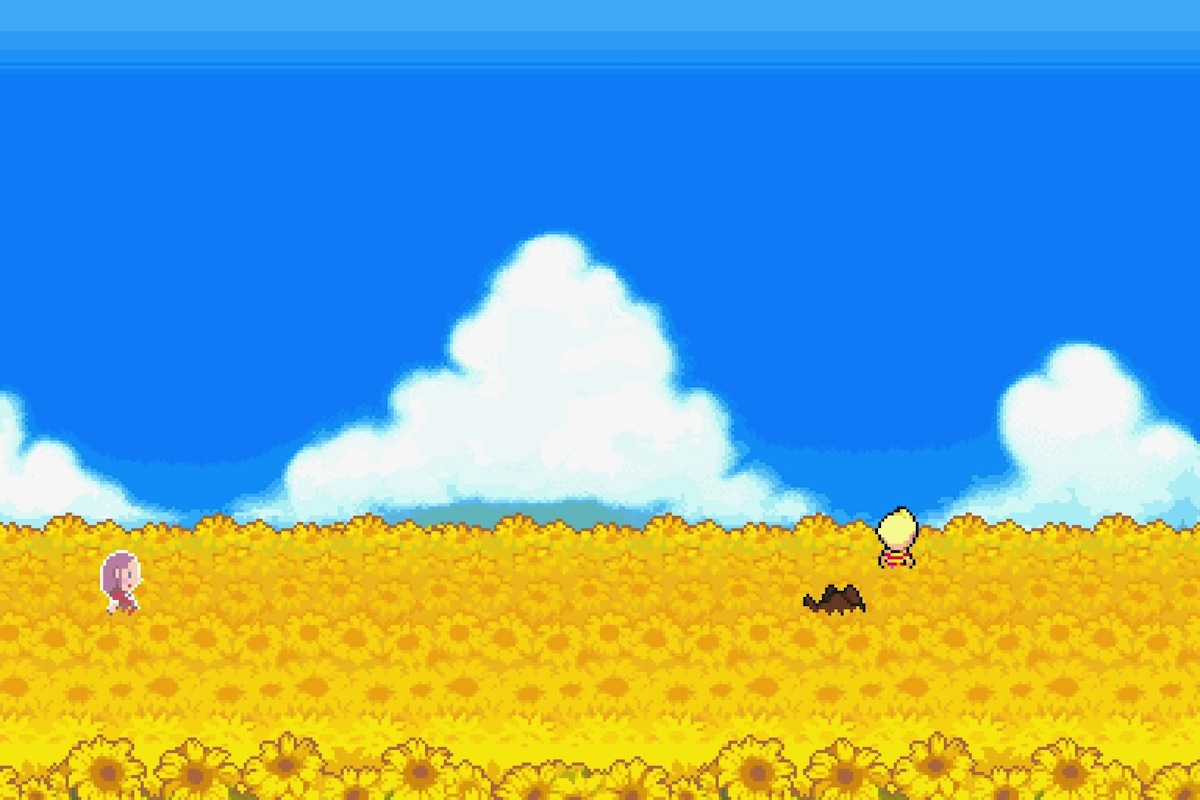Mother 3 Sunflower fields