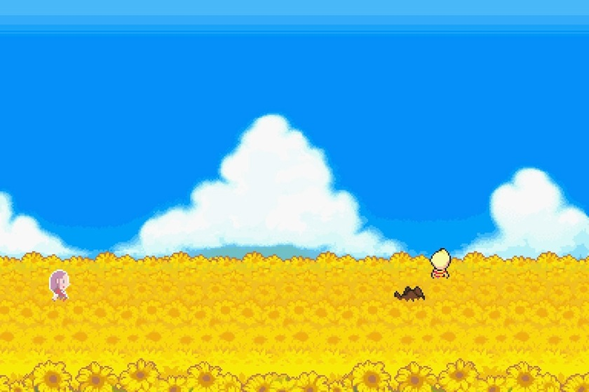 Mother 3 Sunflower fields