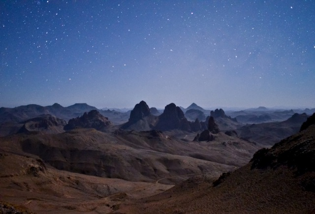 The Desert Night Skies