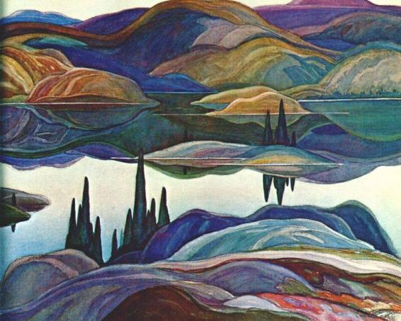 Franklin Carmichael's Mirror Lake