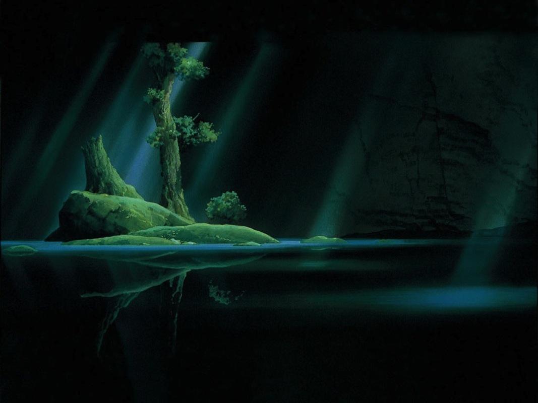 Princess Mononoke Forest Island