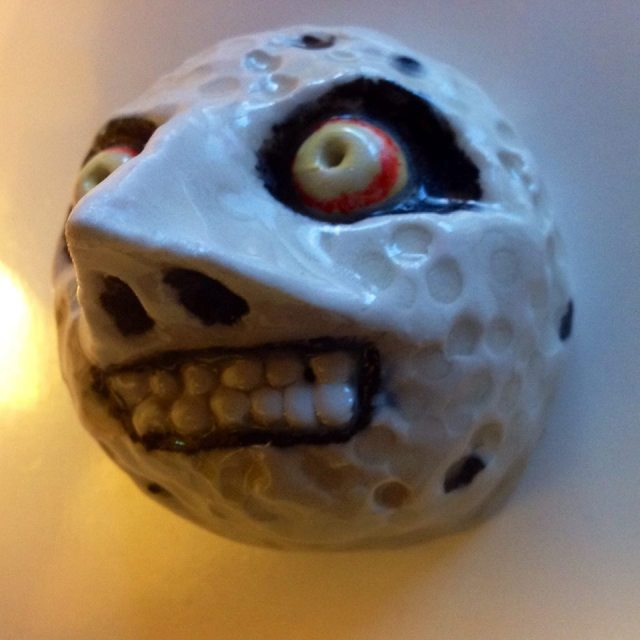 Majora's Mask Ceramic Moon Side profile