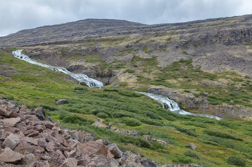 Iceland Mountain Stream