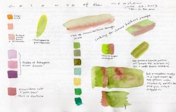 Colours of the Grassland - Lyn Baldwin