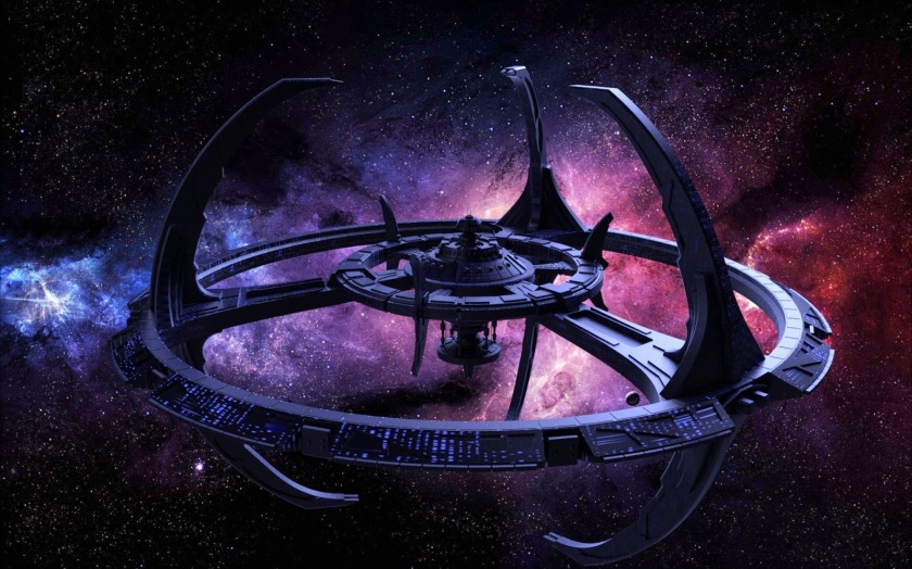 Deep Space Nine Station Artwork