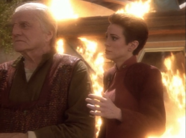 DS9 Progress Kira and Mullibok ending