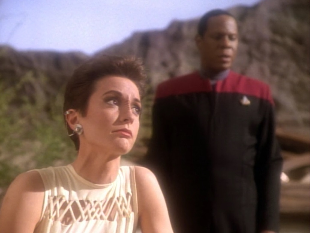 DS9 Progress Kira and Sisko CO