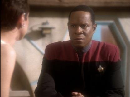 DS9 Progress Kira and Sisko friend