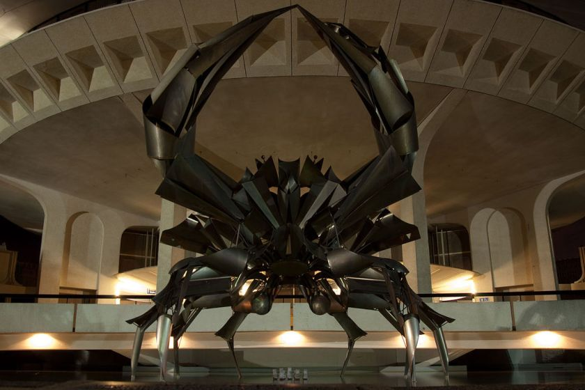 Giant Steel Crab George Norris