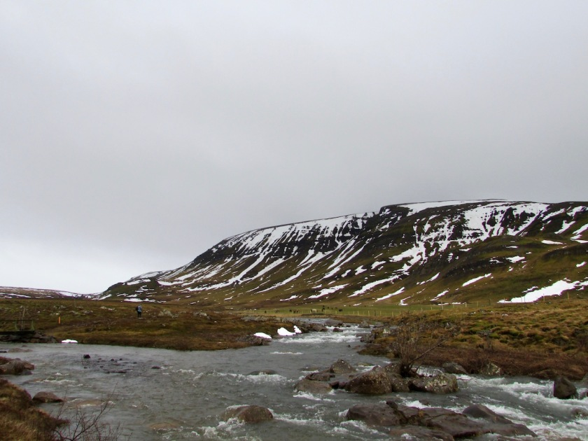 Outside Laxness Museum Iceland